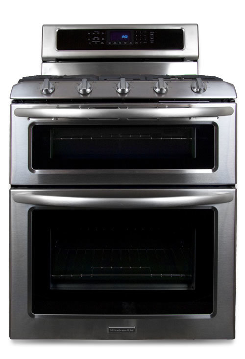 Kitchenaid kgrs505xss review ovens - Gas stove double oven reviews ...