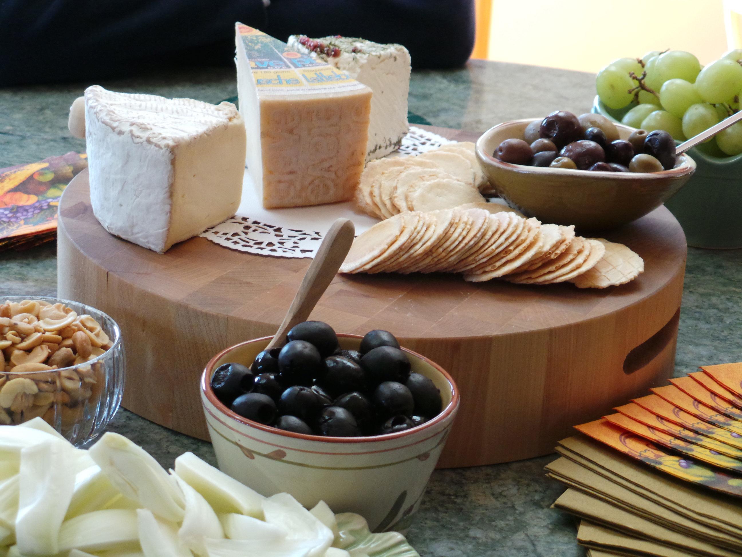 Cheese Sample