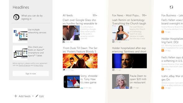 Socialife, a news aggregator