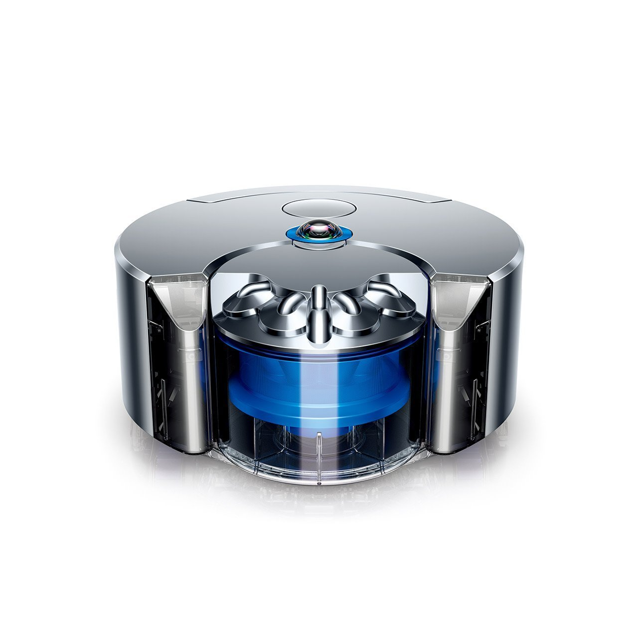 Dyson's robot vacuum fits the company's design language.