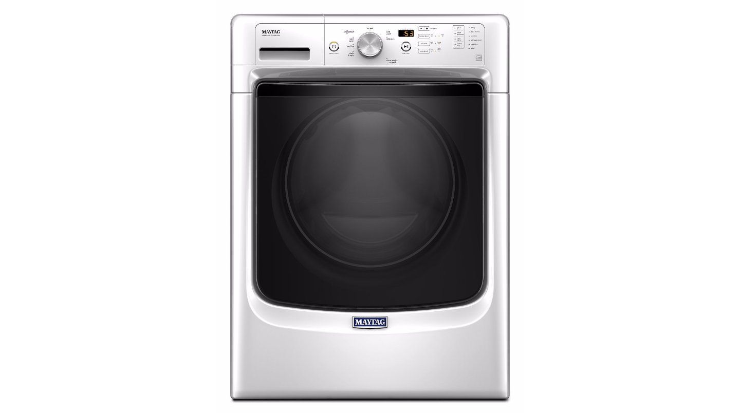 The Maytag MHW3505FW has the same front as nearly all other Maytag front loaders.