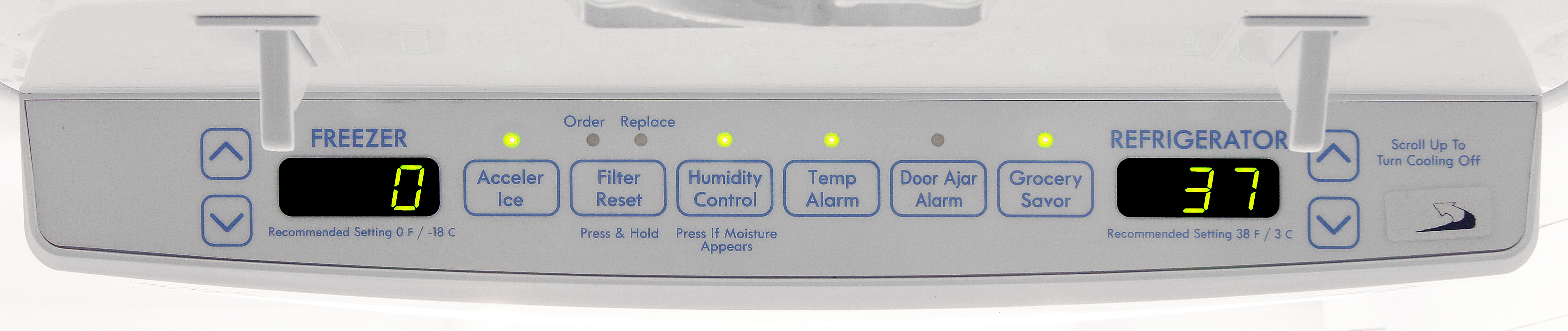 The degree-specific controls are a pleasant surprise for the budget Kenmore 72013.