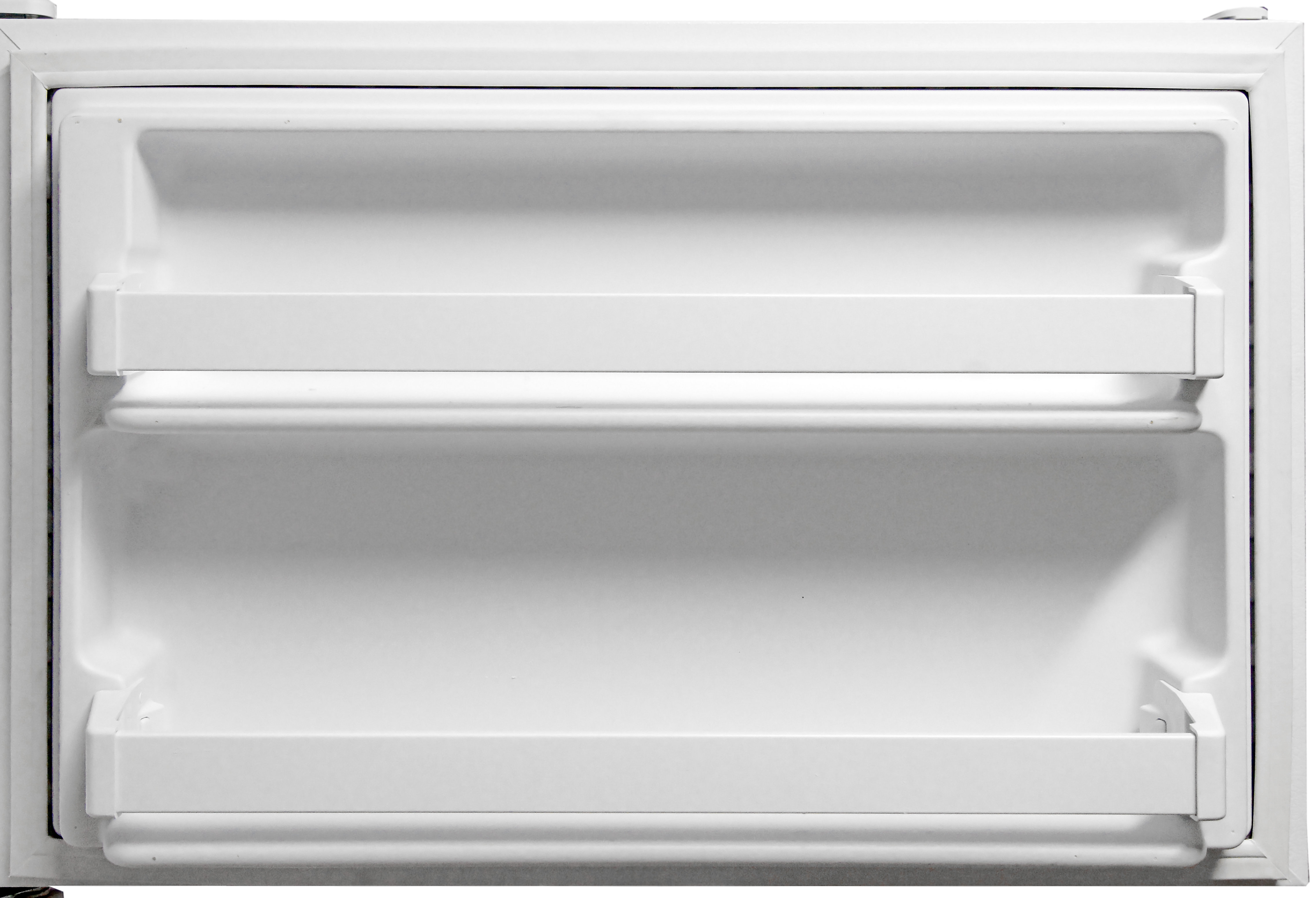 Two identical shelves on the Kenmore 72152's freezer door provide some extra storage.
