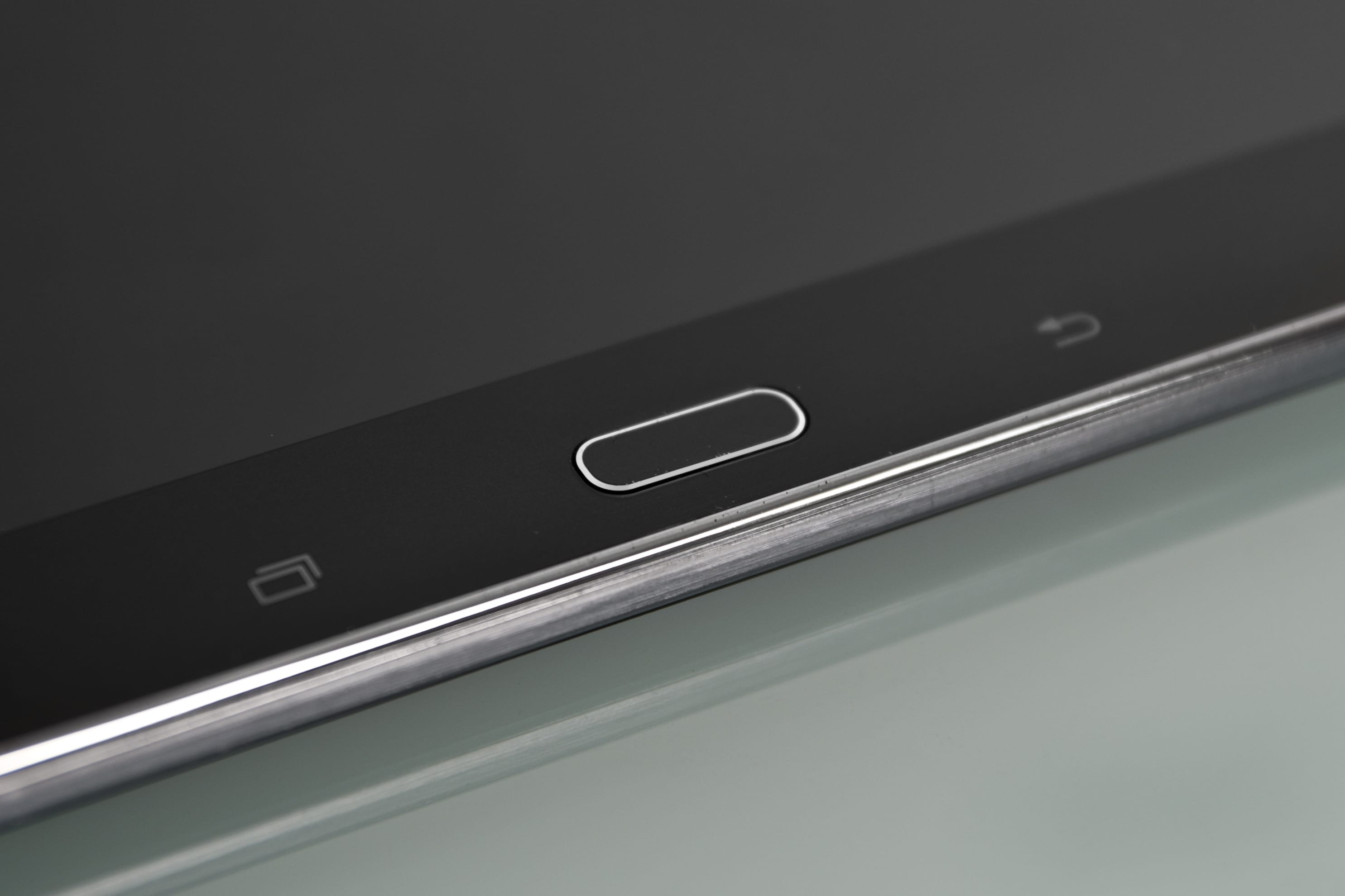 """A close-up of the Samsung Galaxy Note Pro 12.2""""."""