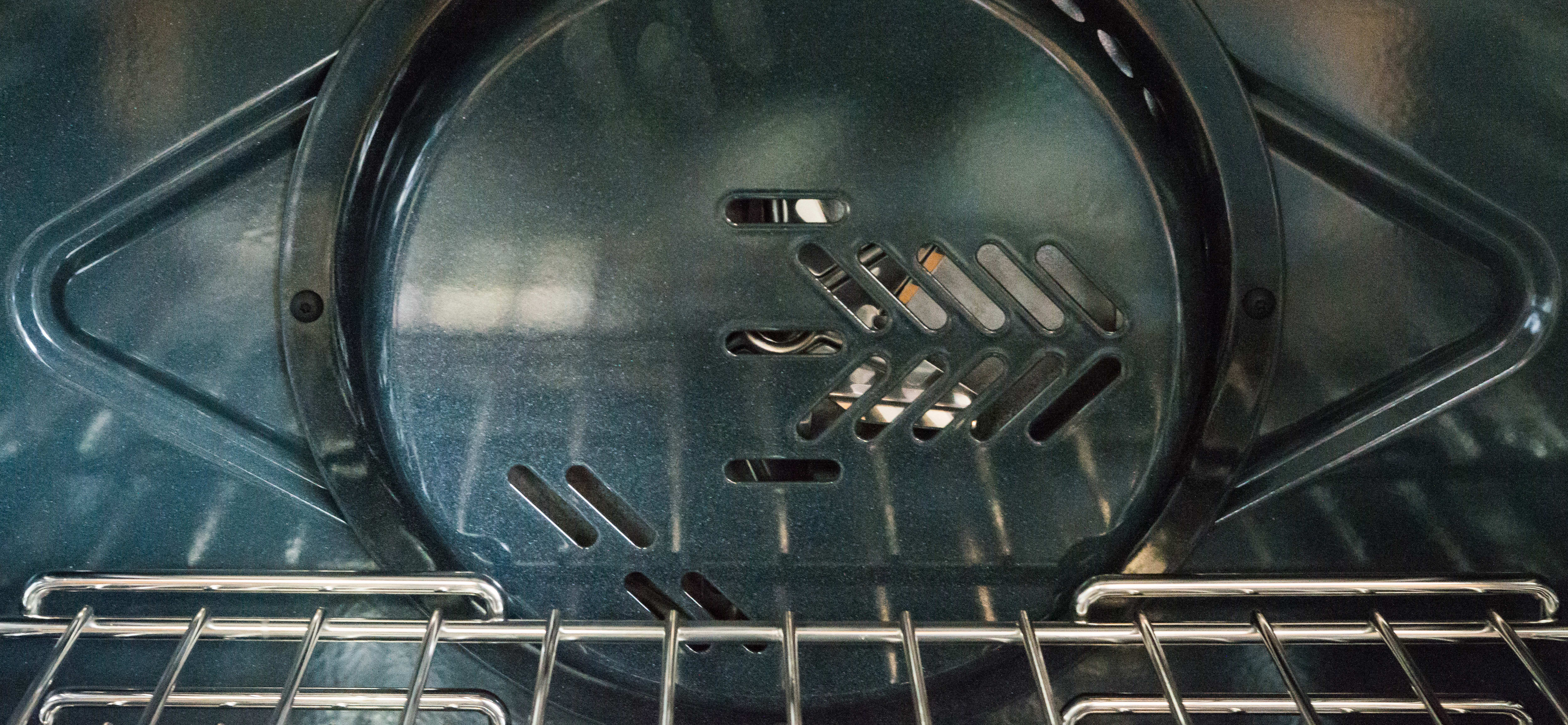 Convection fan in oven
