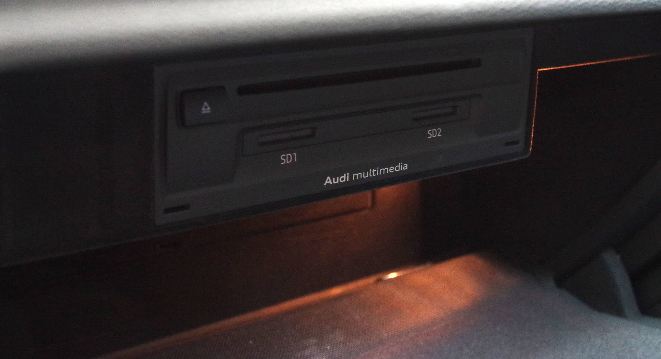 2015 audi a3 CD player