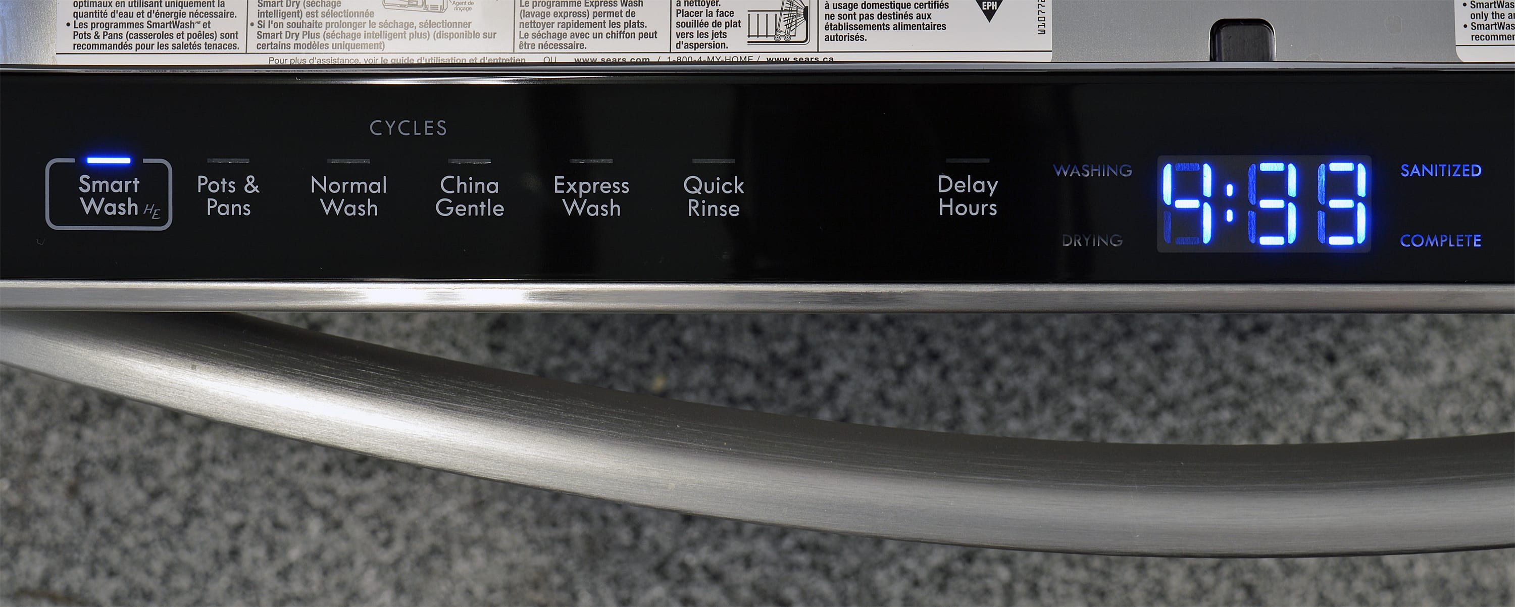 Kenmore Elite 14763 Dishwasher Review Reviewed Com