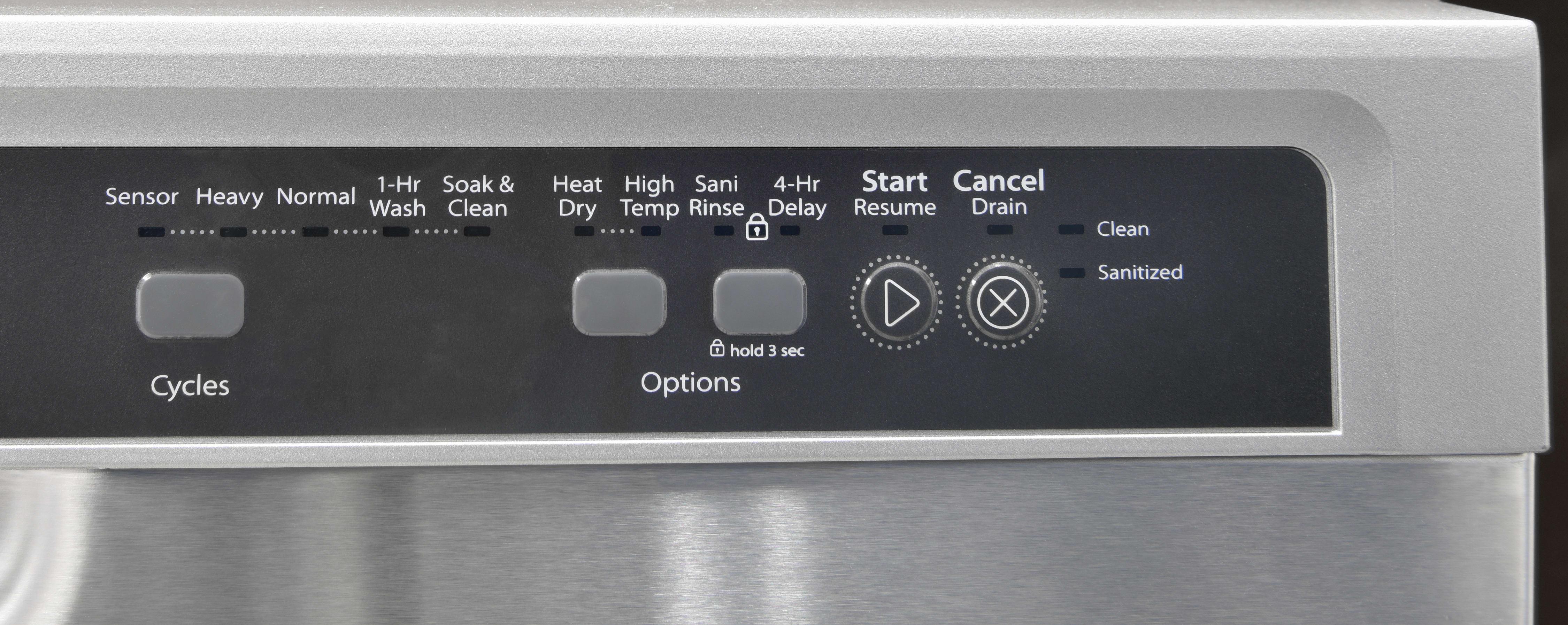 Whirlpool WDF540PADM controls off