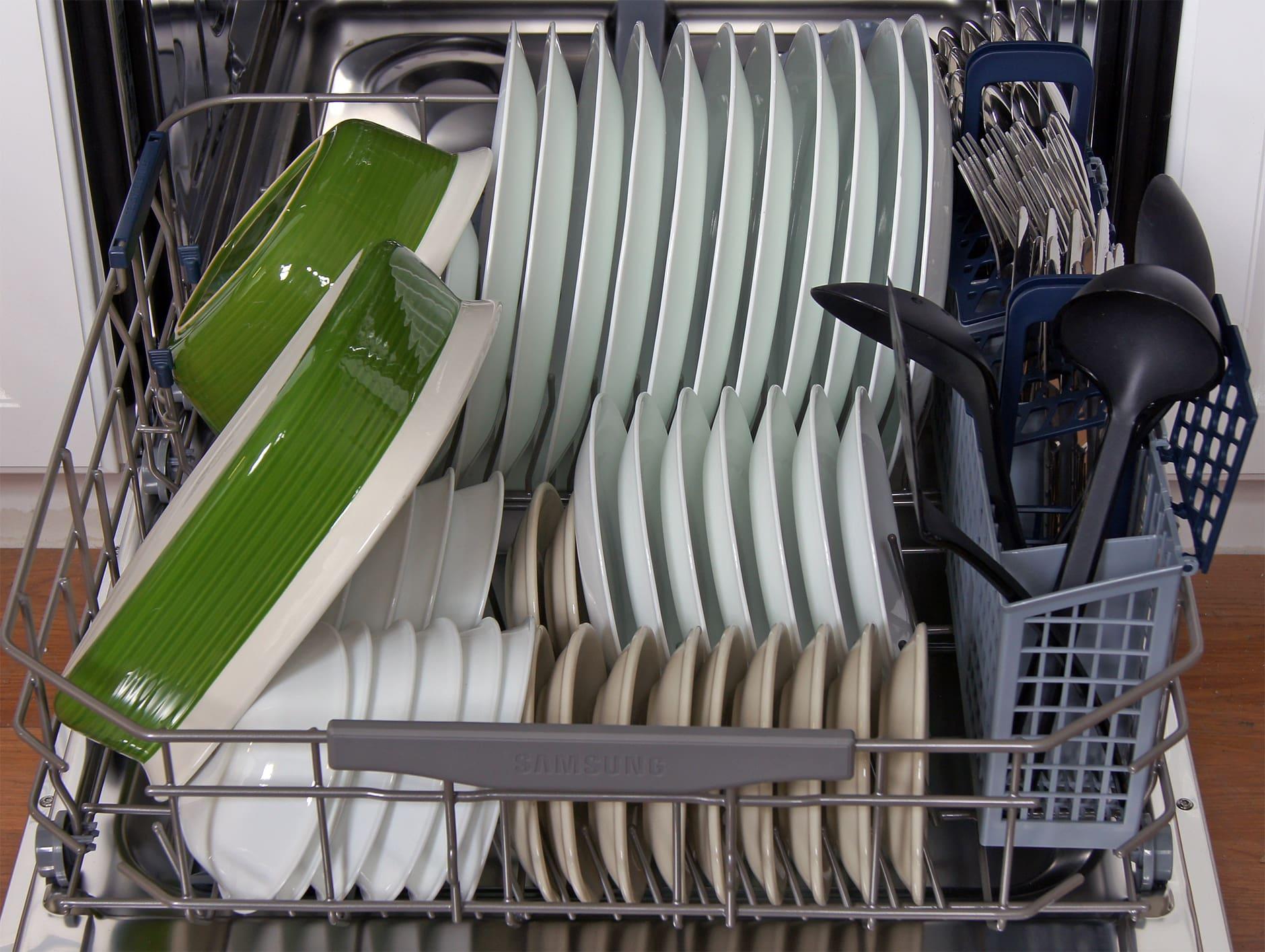 Samsung DW80F600UTS Dishwasher Review - Reviewed.com Dishwashers
