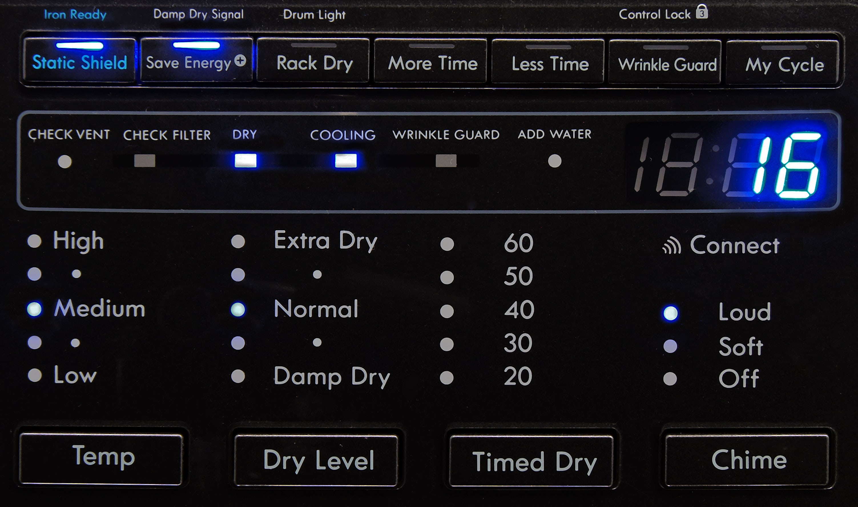 With all the extra options and customizable settings, you might as well call the Kenmore Elite 91583 a Swiss Army dryer.