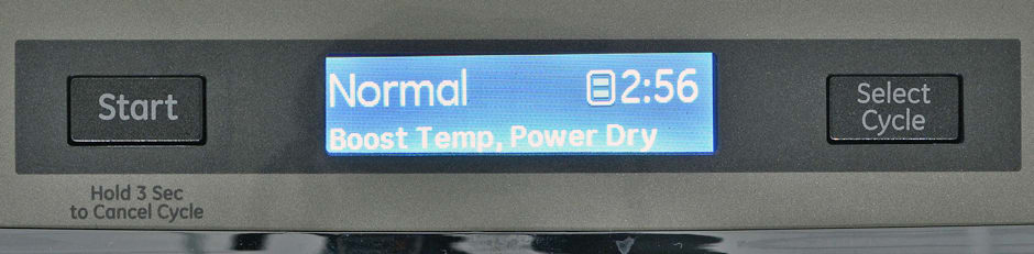 GE Profile PDT760SSFSS control panel and LCD screen