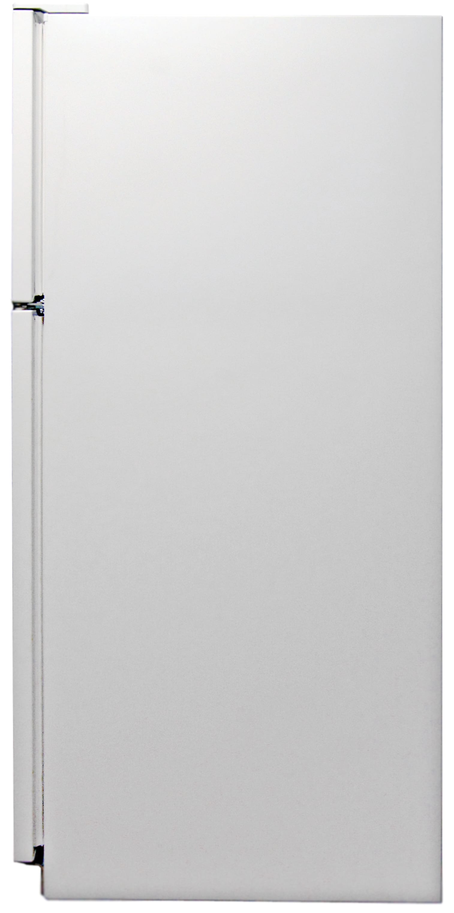 The Kenmore 72152's white matte side compliments the matching front.
