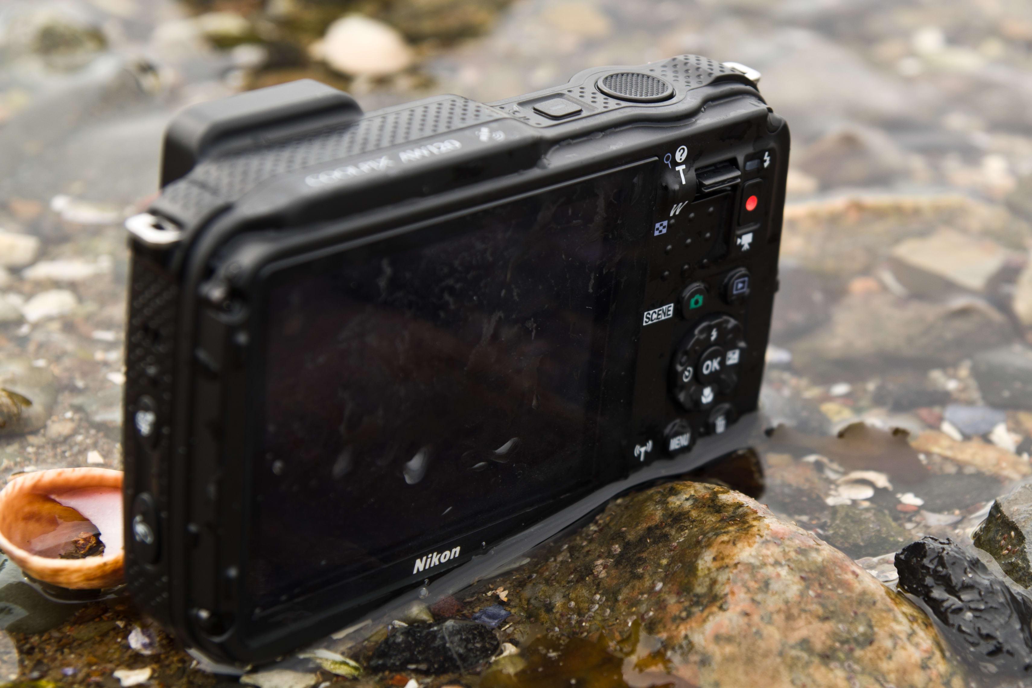 A shot of the Nikon Coolpix AW120's screen.