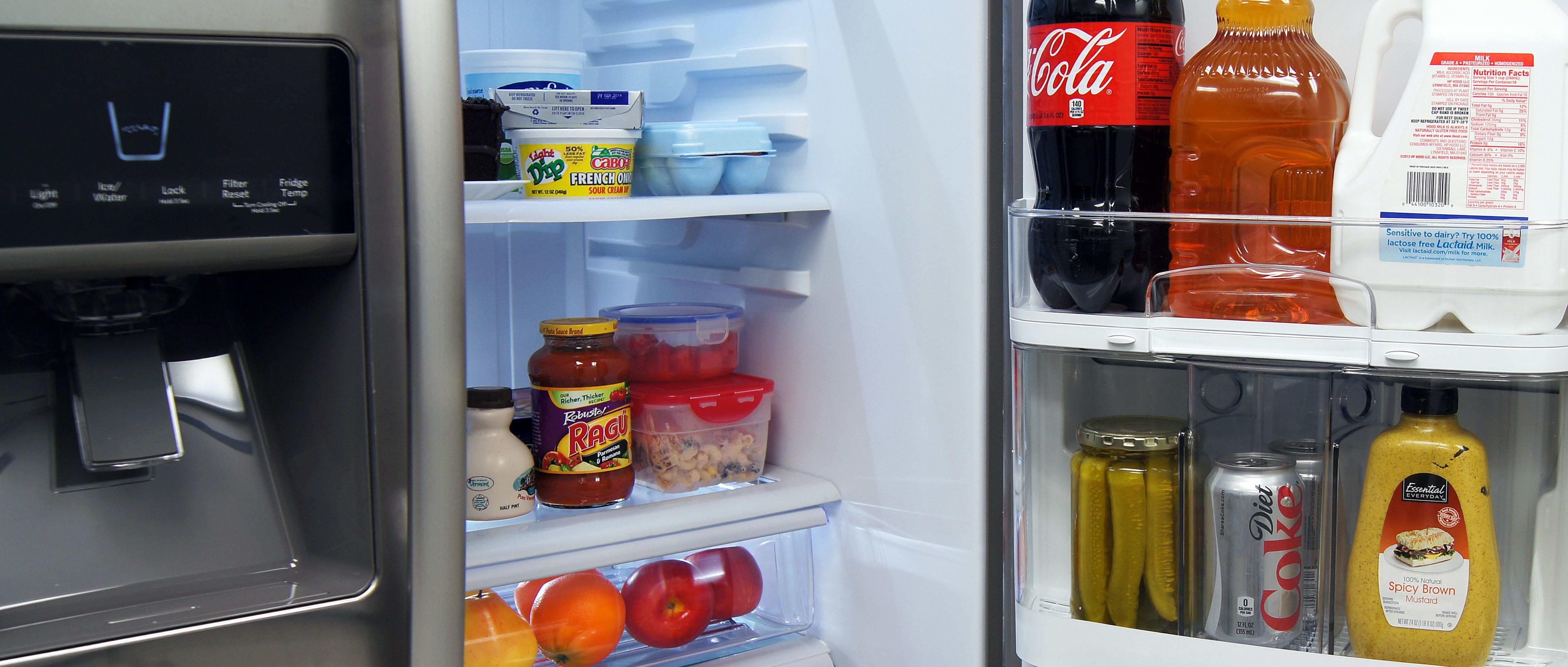 KitchenAid KSF22C4CYY Architect Series II 22 Cubic Foot Side by Side Refrigerator