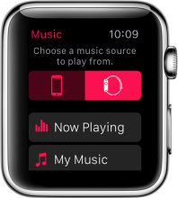Apple Watch Music Source