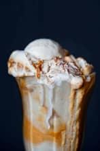 The Spiced Chevre Pumpkin Pie Ice Cream