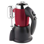 Sunbeam heritage series hand mixer red