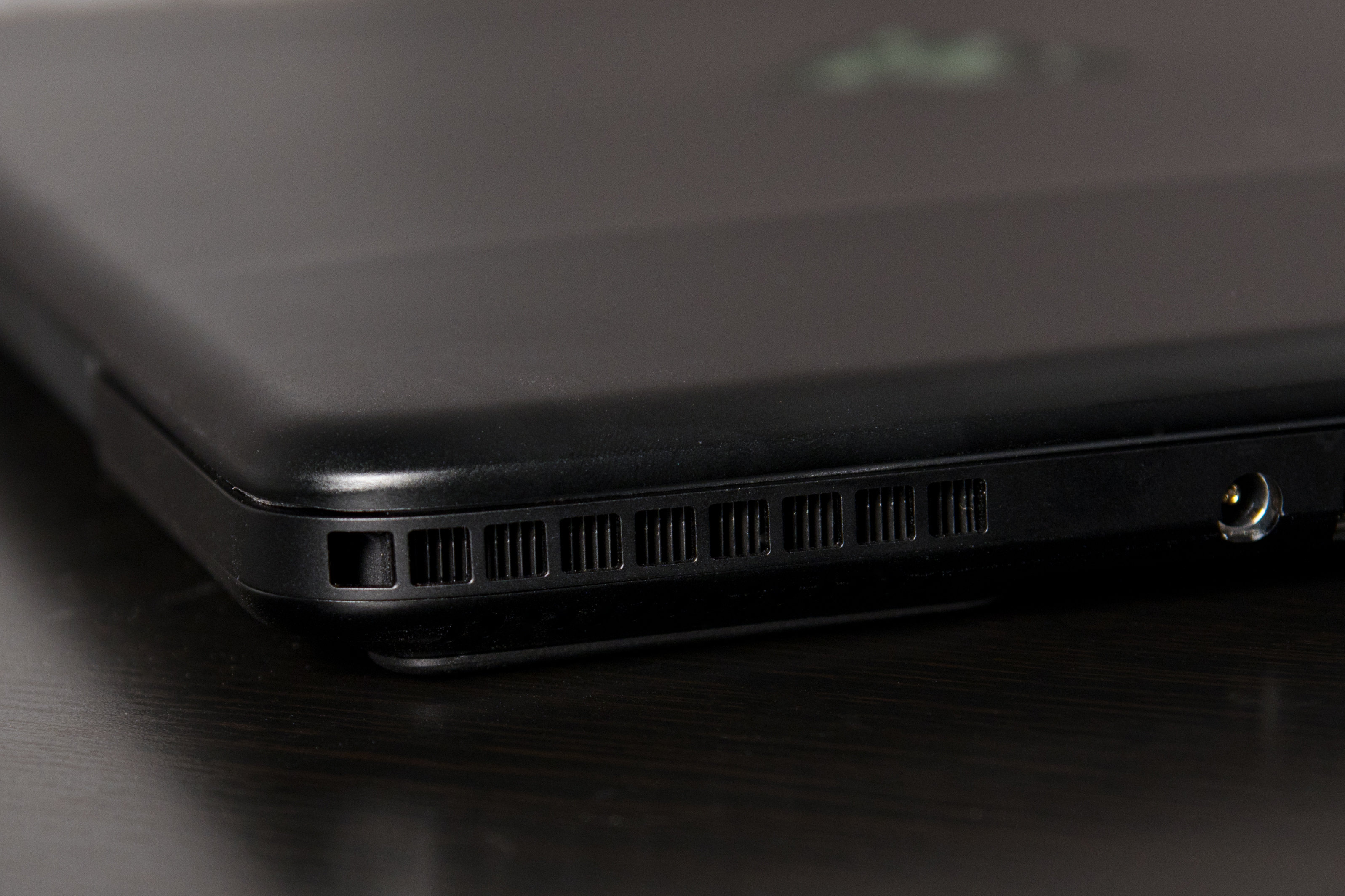 A photo of the Razer Blade Pro's exhaust.
