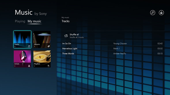 Music by Sony