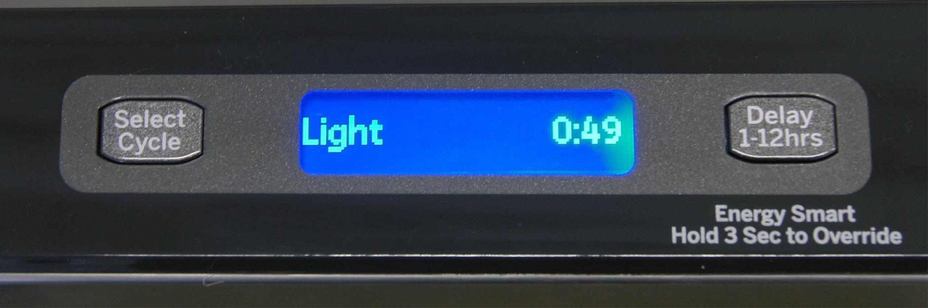 GE Cafe CDT725SSFSS LCD screen