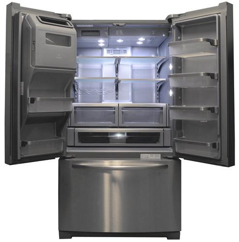 Kitchenaid Refrigerator kitchenaid kfiv29pcms refrigerator review - reviewed refrigerators