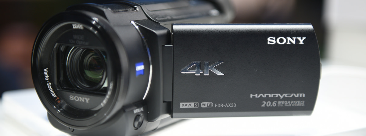 Sony ax33 wedding