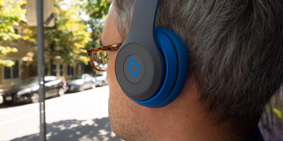Beats Solo2 Wireless Headphones In Use