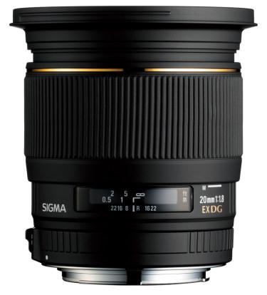 Product Image - Sigma 20mm f/1.8 EX DG ASP RF