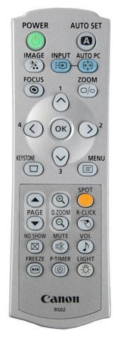 Remote Control Detail Image