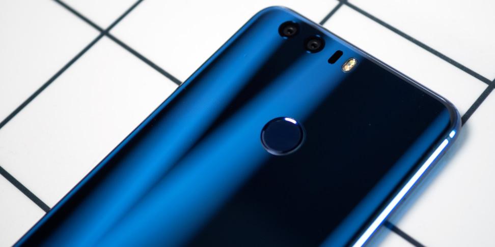 Huawei Honor 8 Glass Backside