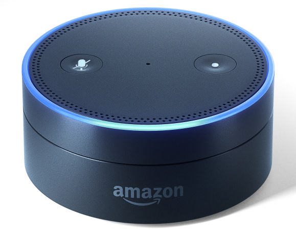 amazon introduces alexa powered tap and echo dot. Black Bedroom Furniture Sets. Home Design Ideas