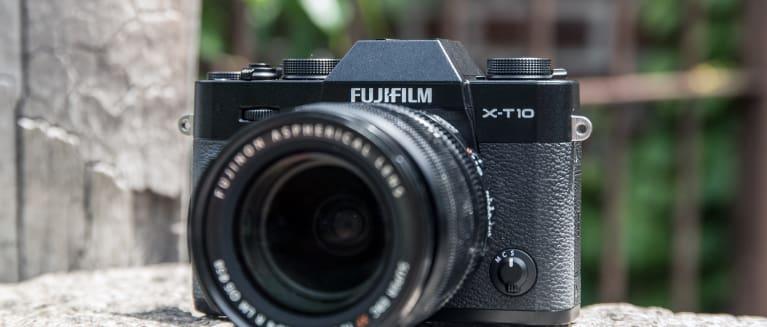 Fujifilm x t10 hero