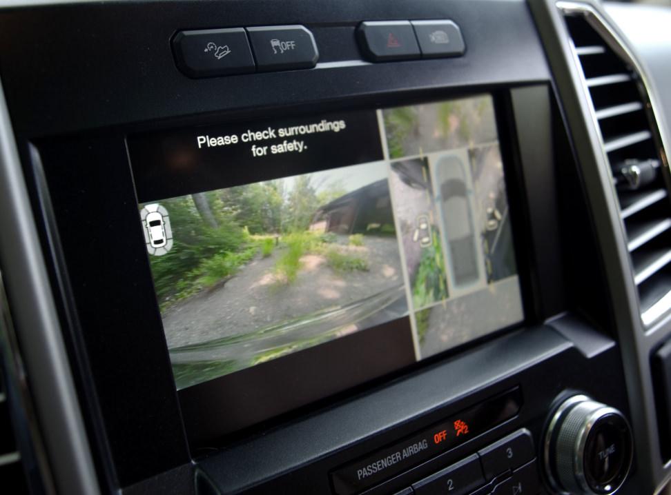 F-150 Camera Display