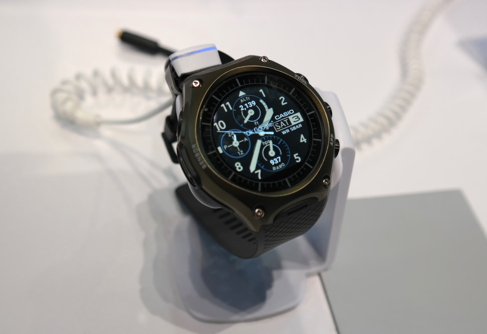 Casio WSD-F10 Smart Outdoor Watch (Vanity)