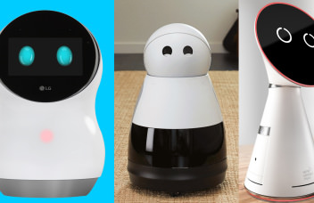 Robots with human faces