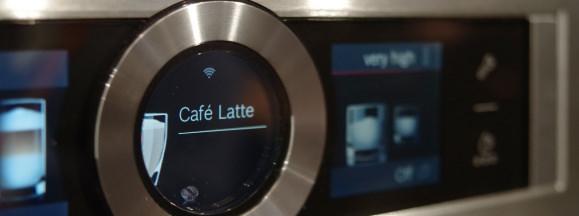 Bosch home connect smart coffee maker hero