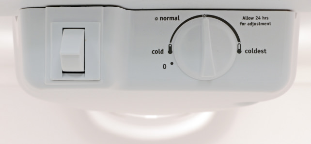 Controls-in-a-refrigerator