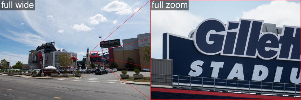 Sample zoom