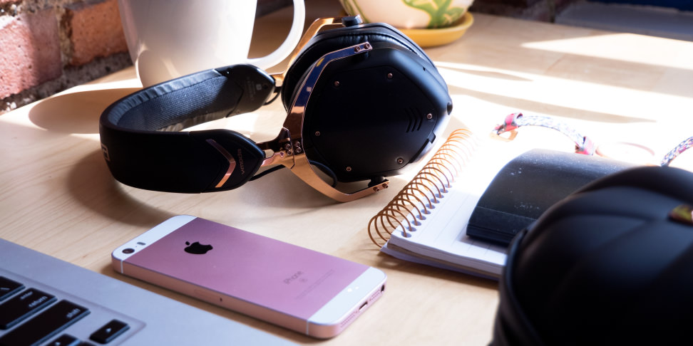 V-Moda Crossfade 2 Wireless On Desk