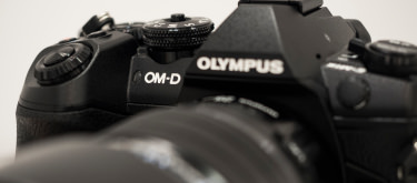 Olympus om d e m1 mark ii front logo hero