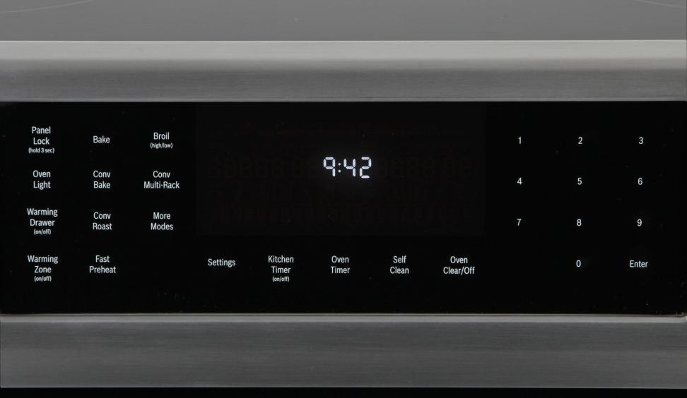 Bosch HEI8054U Controls