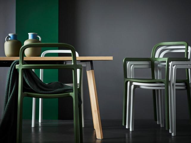 Ikea-chairs