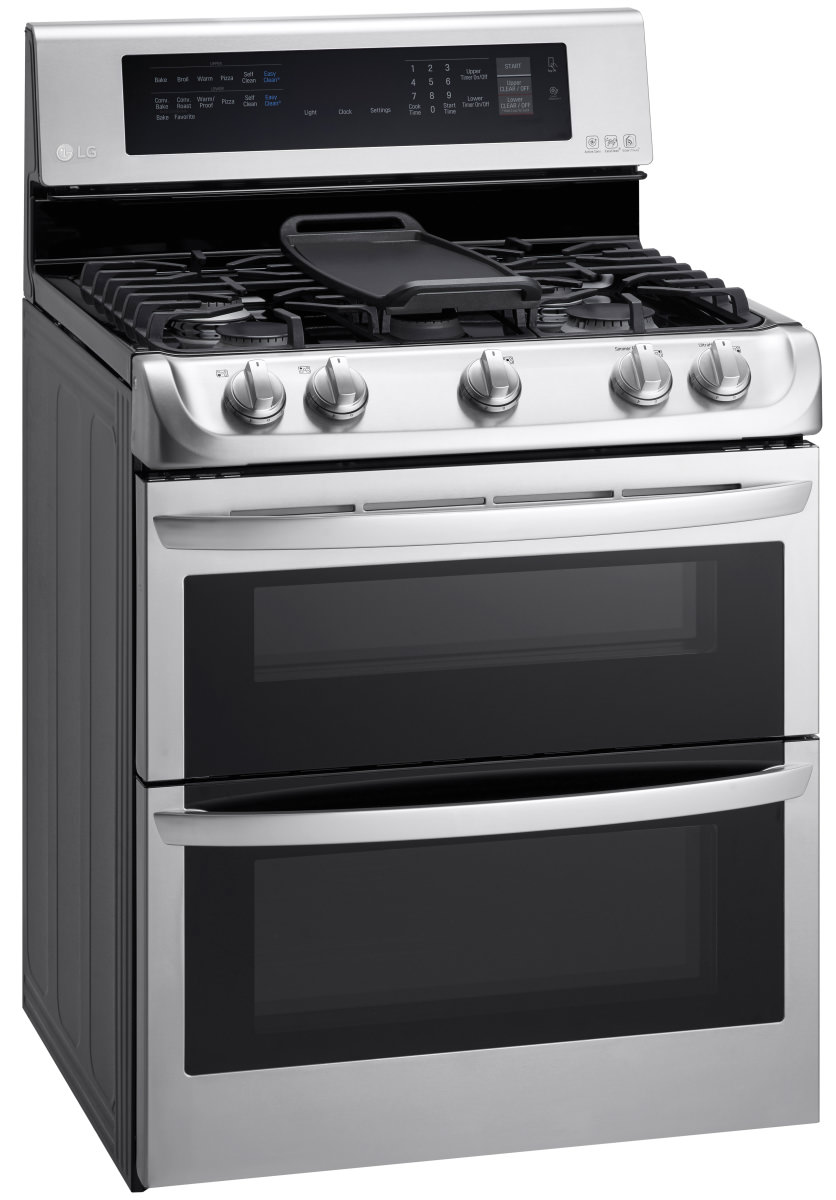 Lg double oven gas range reviews - The lg ldg4315st double oven gas range