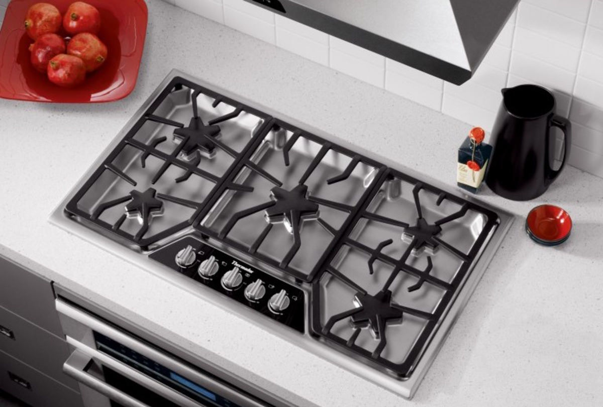 The Best High End 36 Inch Gas Cooktops Of 2018 Reviewed