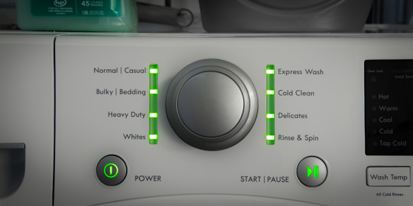 Kenmore front-load washer is slow, but affordable