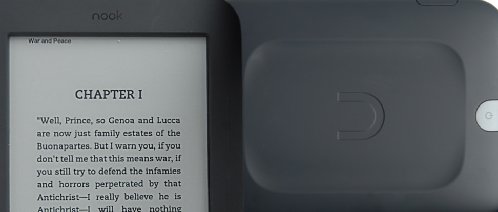 Product Image - Barnes & Noble Nook SimpleTouch with Glow Light