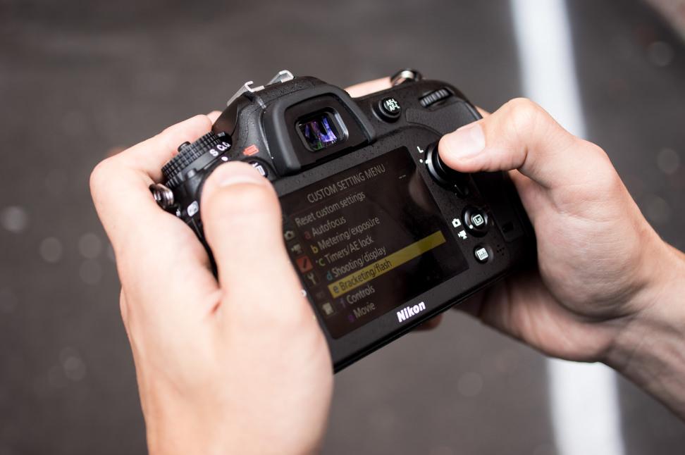 Nikon D7200 Handling