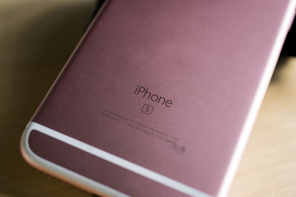 Apple iPhone 6s Back