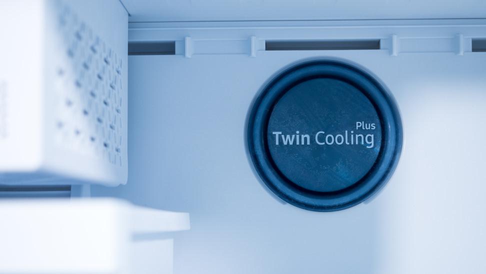 Samsung RT18M6215SG/AA twin evaporators