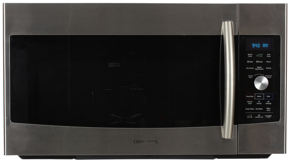 Home kitchen appliances microwaves over the range microwaves - The Samsung Mc17f808kdt Over The Range Microwave